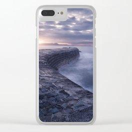 Sea Serpent Clear iPhone Case