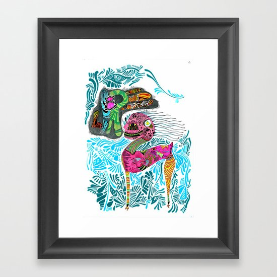 Libre Framed Art Print
