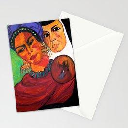 Frida y Sor Juana Ines De La Cruz Stationery Cards