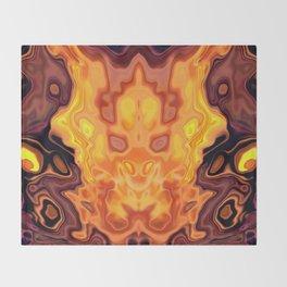 Phoenix Risen Throw Blanket