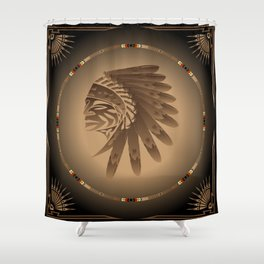 Honor and Strength Shower Curtain