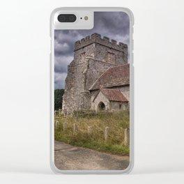 Hamsey Old Church Clear iPhone Case
