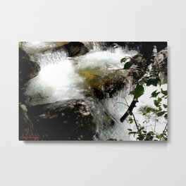 Cascades on Fall Creek in the Weminuche Wilderness, No. 2 of 2 Metal Print