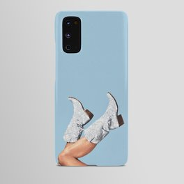 These Boots - Glitter Blue Android Case