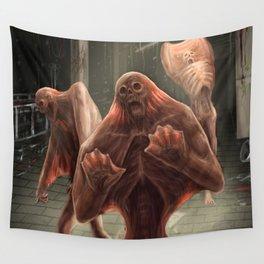 Silent Screamer Wall Tapestry