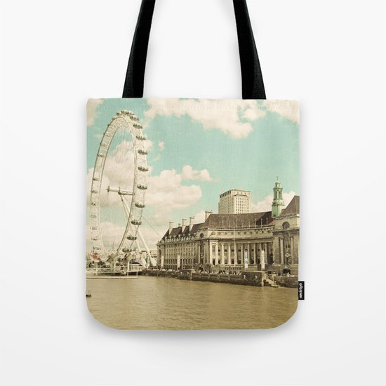 London Eye Love You Tote Bag