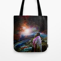 woodstock Tote Bags featuring Woodstock Love Vibrant by ZiggyChristenson