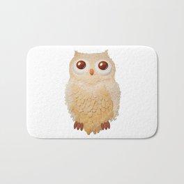 Owl Collage #5 Bath Mat
