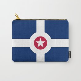 indianapolis city flag united states of america Carry-All Pouch