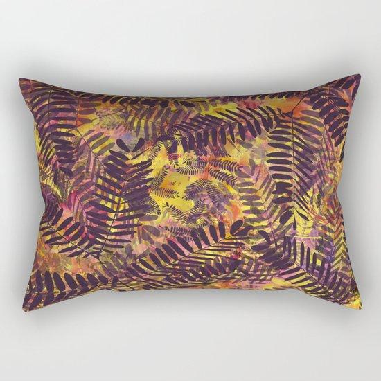 Tropical Abstract Rectangular Pillow