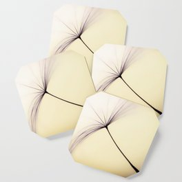 Whispered Wishes on a Dandelion Seed Coaster