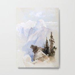 Half Dome, Yosemite Metal Print
