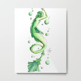 Mermaid 21 Metal Print