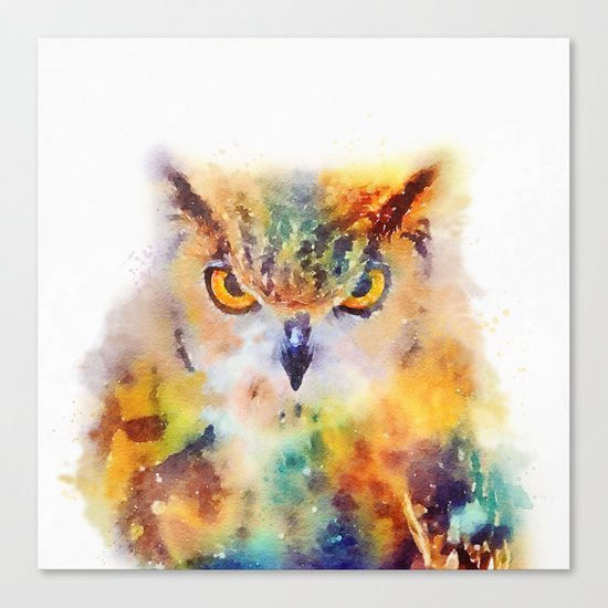 The Wise - Owl Canvas Print