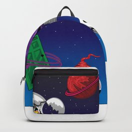 Overwhelming Thought Process Backpack