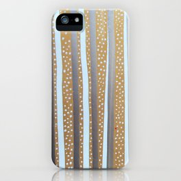 Snowdots iPhone Case