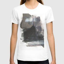 Abstract Texture, Black White & Grey Texture 1 T-shirt