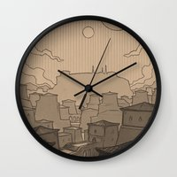skyrim Wall Clocks featuring City of Gems by Hieronymus7Z