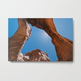 Double Arch at Arches National Park, Utah Metal Print
