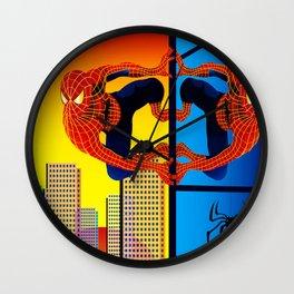 OTHERWORLD SPIDEY Wall Clock