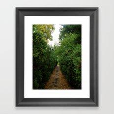 A Path Worth Taking Framed Art Print