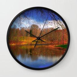 Autumn, Fall photography Wall Clock