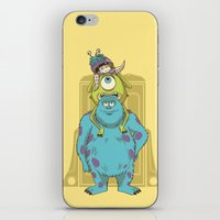 monster inc iPhone & iPod Skins featuring Monster Inc. by Fathi