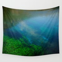 underwater Wall Tapestries featuring underwater by habish