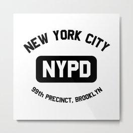 99th precint-brooklyn NY Metal Print