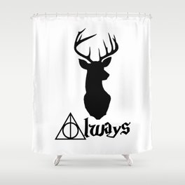HP Always with Stag Shower Curtain