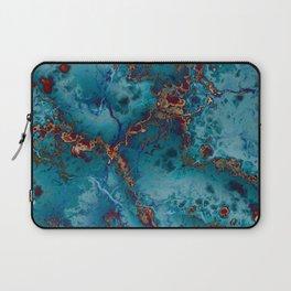 Blue fantasy marble Laptop Sleeve