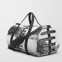 Signs Duffle Bag