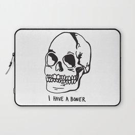 Skull Bone Laptop Sleeve