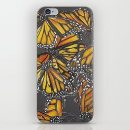 Traveling Monarch iPhone Skin