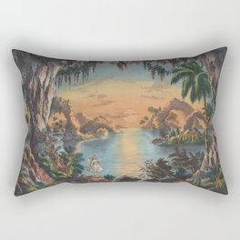The Fairy Grotto (1867) Rectangular Pillow