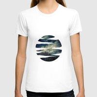 murakami T-shirts featuring Evening Sky by Geni
