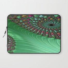 Carnival Green Laptop Sleeve