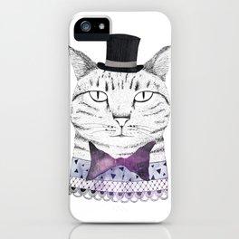 MR. CAT iPhone Case