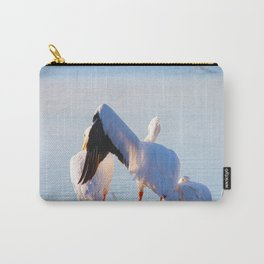 Pelican Wooing I Carry-All Pouch