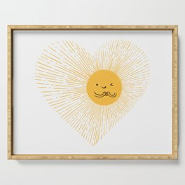 You are the Sunshine of my heart Serving Tray