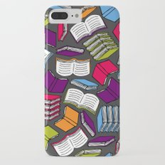 So Many Colorful Books... iPhone 7 Plus Slim Case