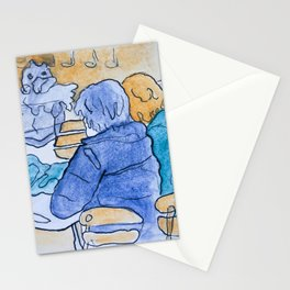 Watercolor VII Stationery Cards