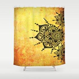 Bright Zen Circles Shower Curtain