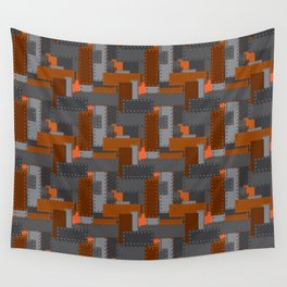Steel Plates Wall Tapestry