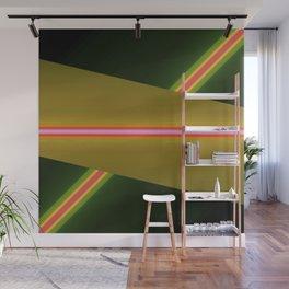 laser Wall Mural