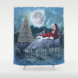 Christmas Dream Shower Curtain