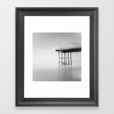 Victoria Pier Framed Art Print