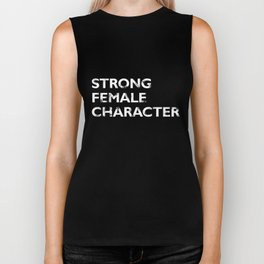 Strong Female Character Biker Tank