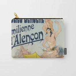 Folies Bergère 1893 Emilienne d'Alencon Carry-All Pouch