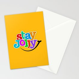 Stay Jolly - Key to Happiness Stationery Cards
